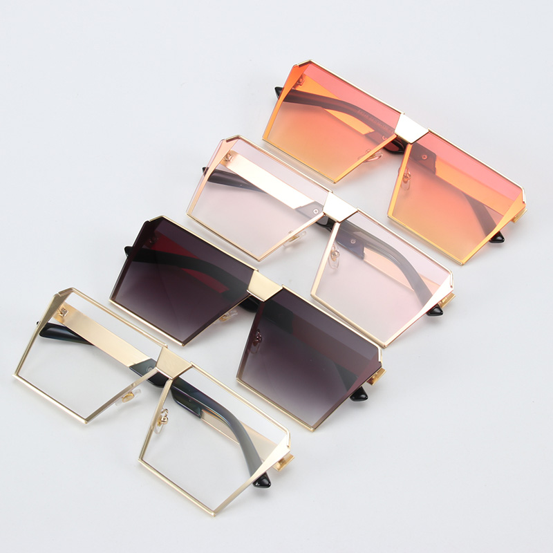 5f14346b5207 ROYAL GIRL Vintage Square Sunglasses Women Brand Designer Black Pink Eyewear  Retro Gradient Oculos UV400 ss953-1