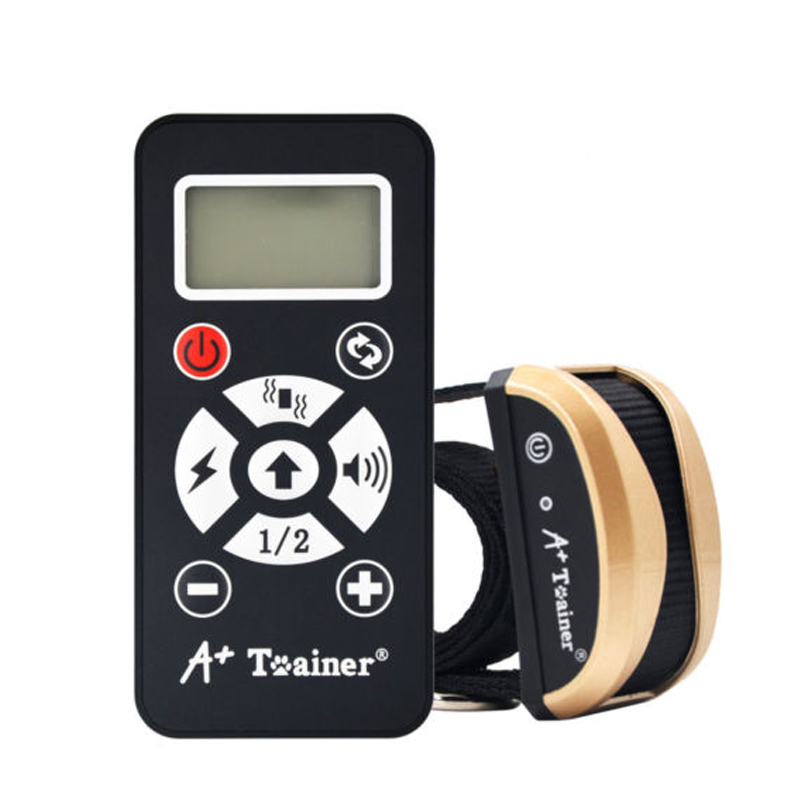 Dog training collar waterproof vibration electric shock sound Automatic anti bark collar remote dog accessories Newest