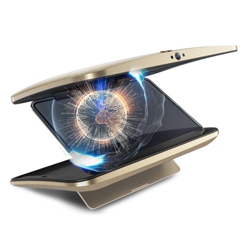 3D caja MP4 jugador agujero abierto 3D ojo desnudo 3D player con WIFI bluetooth soporte TF tarjeta Android ios móvil APP de la batería incorporada