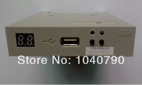 Free shipping SFR1M2 FU 1 2MB USB SSD Floppy Drive Emulator GOTEK for SHIMA SEIKI SES