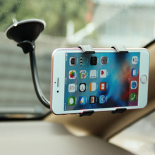 Universal Cars Windshield Mobile Phone Mount Bracket Holder Stand for iPhone 4 4S 5 5S 6 6S 6 plus Smartphone Car Holder