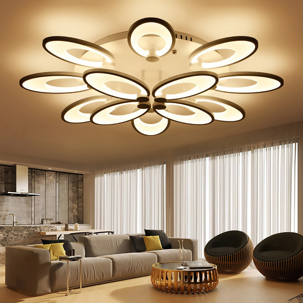 Modern Ceiling Lights For Living Room Luminaria For Living Room Bedroom Indoor Home Led Lamps Fixture