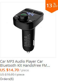 Car MP3 Audio Player Car Bluetooth Kit HandsFree FM Transmitter Wireless FM Modulator Handsfree MP3 music