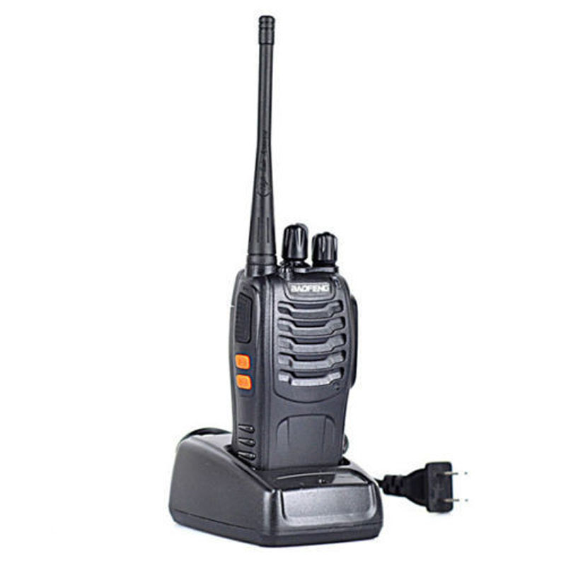 Baofeng BF-888S Talkie Walkie 5 W De Poche Pofung bf 888 s UHF 400-470 MHz 16CH Deux-façon Portable Radio avec Baofeng Écouteur