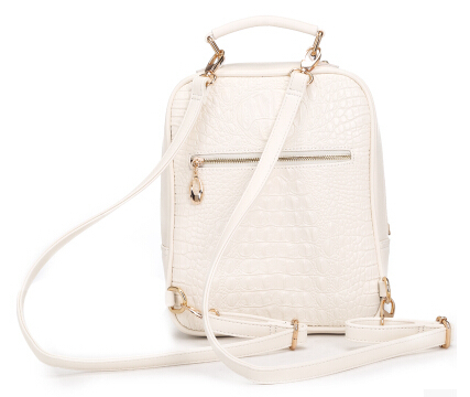 Aliexpress.com : Buy Fashion 2015 white cute small backpack for ...