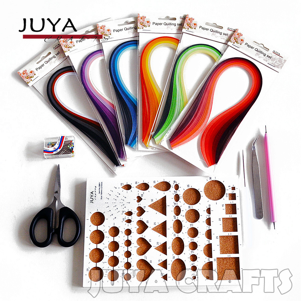 Buy juya quilling kits 3mm width 600 for How to use quilling strips