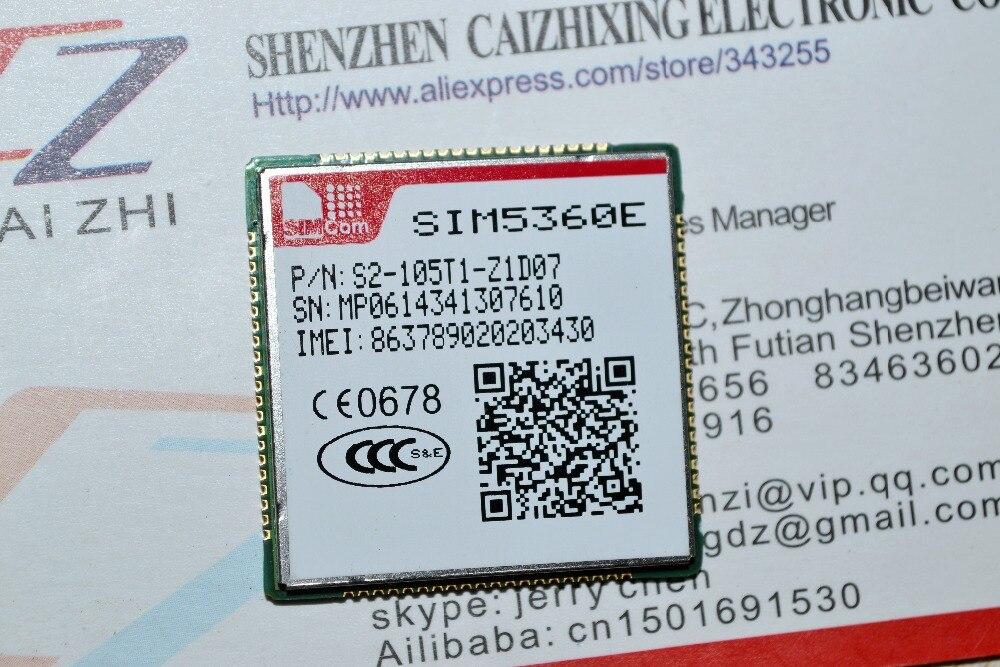 Бесплатная доставка двухдиапазонный HSPA +/WCDMA и двухдиапазонный GSM/GPRS/EDGE 3g модуль SIM5360E, оригинальный новый от SIMCOM