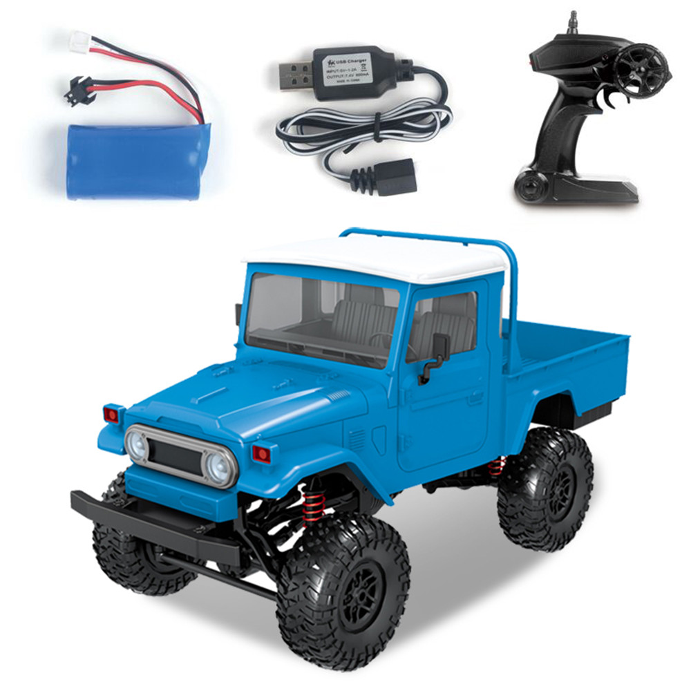 MN Model MN45 RTR 1/12 2.4G 4WD RC Car with LED Light Crawler Climbing Off road Truck RTR Kids Toys Gift-in RC Cars from Toys & Hobbies    3