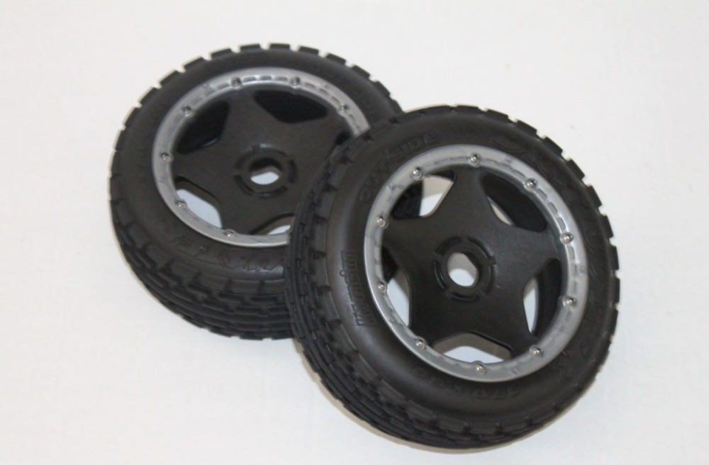 baja 5b off road front wheels set ( only 2pc front) baja 5b off road front wheels set only 2pc front
