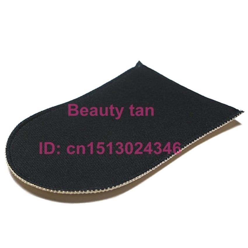 50pcs lot Self Tanning Mitt Beauty Spray Tan Self Tanner Body Bronzer Soft Velvet foam can