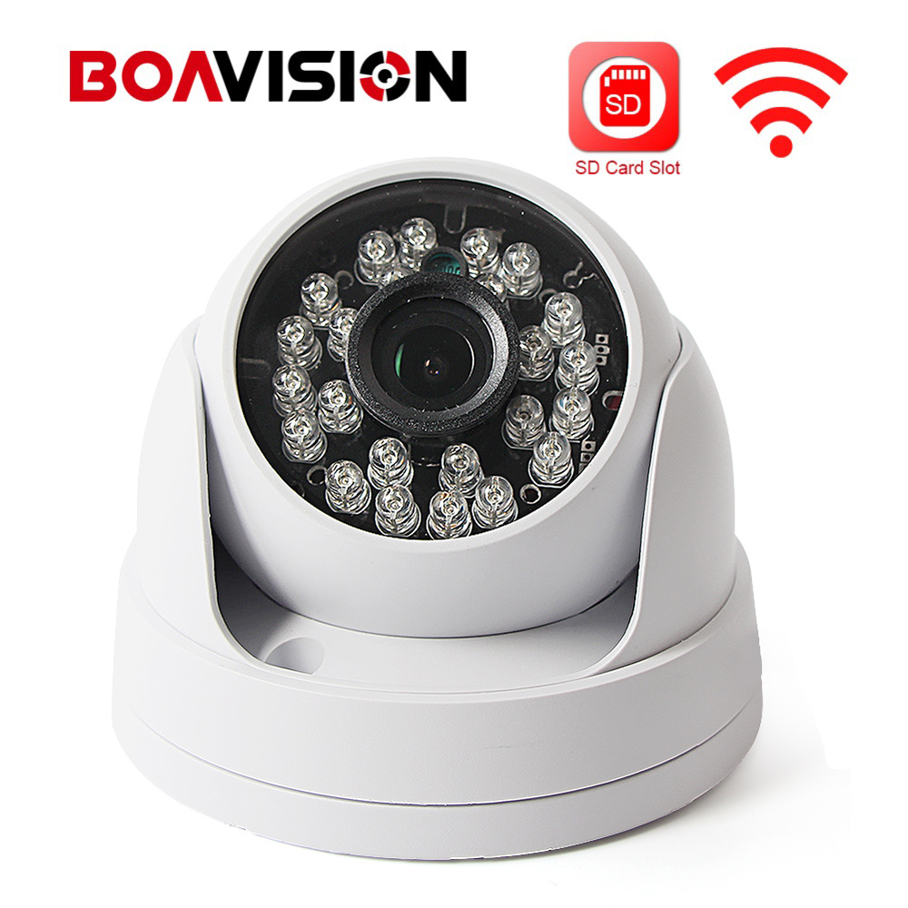 HD 720P 1080P Wireless Wifi IP Camera 960P Security CCTV Dome Camera Wi-Fi IR 20m Night Vision TF Card Slot Onvif P2P APP CamHi hd 720p 1080p wifi ip camera 960p outdoor wireless onvif p2p cctv surveillance bullet security camera tf card slot app camhi