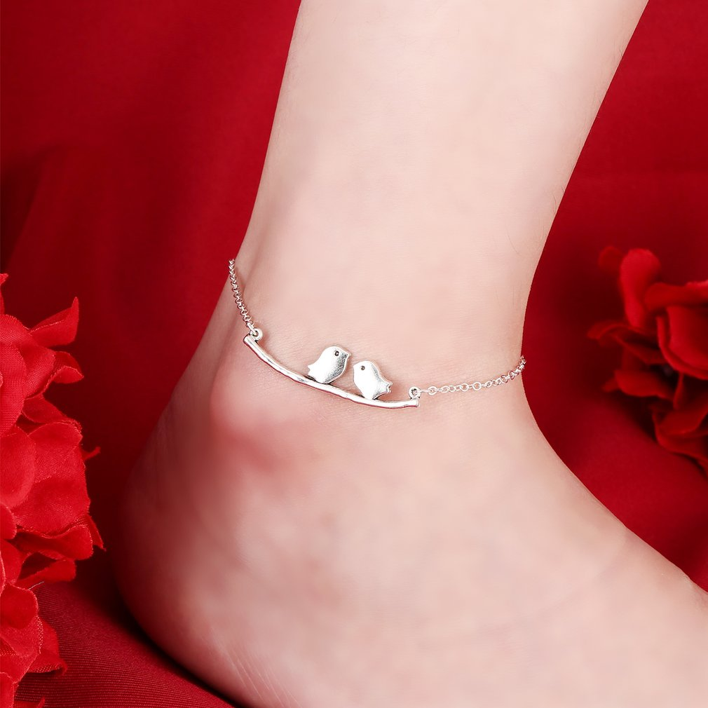 Hot Love Bird Anklet Bohemia Beach Anklet Foot Anchor bracelet Jewelry Gift For Women Fashion Leg Chain Gold/Silver Color bracelet