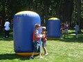 P092 Бесплатная Доставка надувные пейнтбол бункеры, развлечения тактический пейнтбол бункеры, надувные
