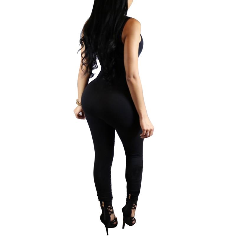 f3b227effca Milk Silk Romper Women Jumpsuit Catsuit Overalls Bodysuit Bodycon ...