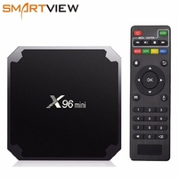 X96 mini Android 7.1 Smart TV BOX 2GB/16GB TVBOX X 96 mini Amlogic S905W H.265 4K 2.4GHz WiFi Media Player Set Top Box X96mini