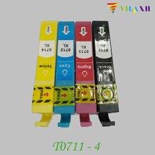 T0711 T0712 T0713 T0714 Ink cartridge For Epson Stylus D78 D92 D120 SX210 SX215 SX100 SX200 DX4000 DX4050 DX4400 DX4450 DX5000