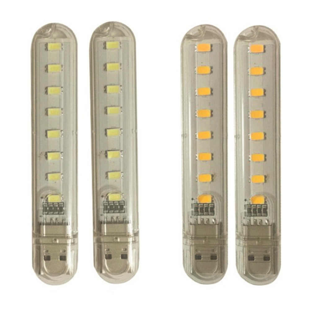 5V 12W USB LED Night Light 24 LEDs USB Reading Table Lamp Book LightPF