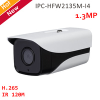 DH 1.3MP Night vision IP camera IPC HFW2135M I4 H.265 IR 120M Waterproof Network Camera Security camera for Home ip system