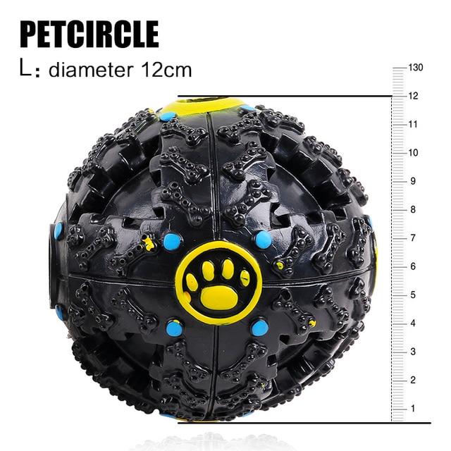 2017 petcircle hot trumpet sound leakage food ball dog toy pet shrieking ball puzzle resistant teeth bite dog toys free shipping
