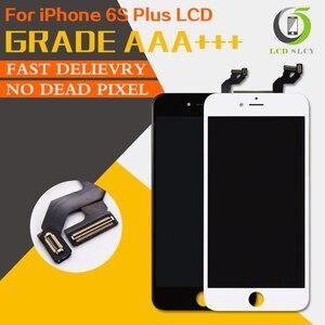 Image 1 - 100% Test AAA + + iPhone 6S artı LCD Pantalla ekran iyi 3D dokunmatik ekran meclisi değiştirme ekran ücretsiz temperli film + aracı