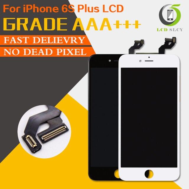 100% Test AAA + + iPhone 6S artı LCD Pantalla ekran iyi 3D dokunmatik ekran meclisi değiştirme ekran ücretsiz temperli film + aracı