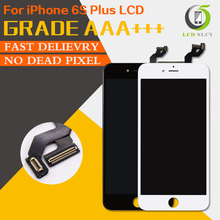 Prova di 100% AAA + + Per il iPhone 6S Plus LCD Pantalla Schermo Buona 3D Touch Display Assemblea Sostituzione dello schermo di trasporto temperato pellicola + Strumento