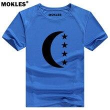 COMOROS t shirt diy free custom made name number des com t shirt nation flag km