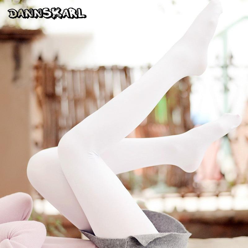 Gaya Jepang baru Beludru Putih Sutra Wanita Stoking Musim Semi Dan Musim Gugur Tari Balet Stocking Fashion Wanita Pantyhose