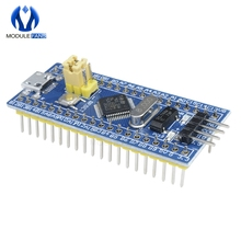 Módulo de placa de desarrollo de sistema mínimo STM32F103C8T6 ARM 32 Cortex-M3 STM32 SWD, interfaz Mini USB para Arduino I/O 72Mhz