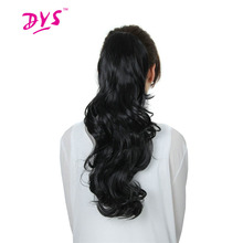 Deyngs Long Kinky Curly Claw in Ponytail Hair Extension Synthetic Pony Tail Tress Hair Piece Blonde/Black/Brown 3 Color Ponytail