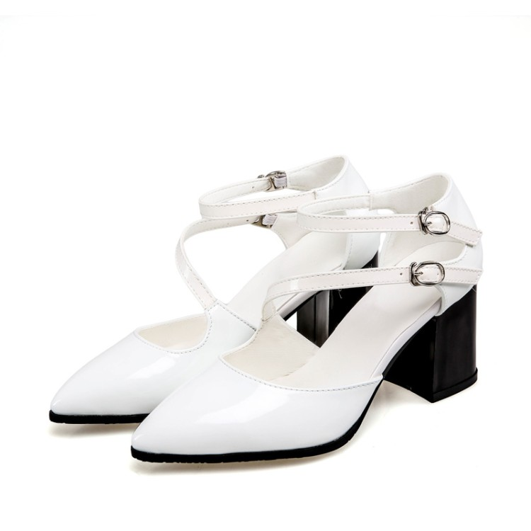 2017 Sale Fashion Ladies Shoes Big Plus Size 34-47 Shoes Women Sandals Platform Sapato Feminino Summer Style Thick Heel 1228-1 franxois 2017 women summer shoes fashion platform soft pu sandals women s high heeled shoes thick heel sandals big size 25cm