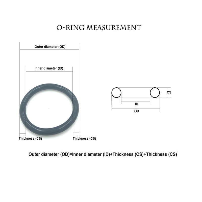 RODE siliconen o-ringen OD12mm ~ 400mm * 4mm Dikte Food Grade Zeehonden geen gif Hittebestendigheid O Ring Afdichtingen Pakkingen