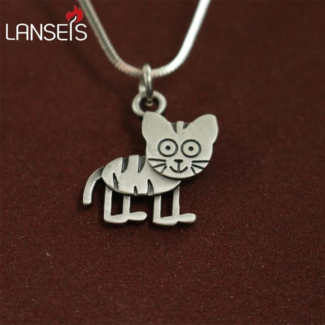 1pcs wholesale cute cartoon tiger necklace pendants for women 1pcs wholesale cute cartoon tiger necklace pendants for women necklace animal jewelry simple summer necklaces gift mozeypictures Gallery