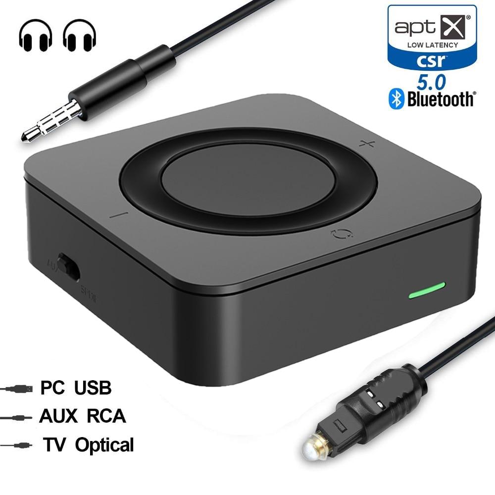 Tragbares Audio & Video Funkadapter WunderschöNen Bluetooth 5,0 Aptx Niedrigen Latenz Musik Sender Empfänger Mini A2dp Wireless Home Auto Stereo Rca Spdif 3,5mm Audio Tv Adapter