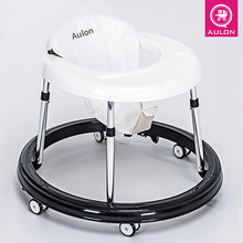 Baby walker car Pu cushion babywalker 6 / 7-18 months children anti-rollover car multi-function push can take baby wakler