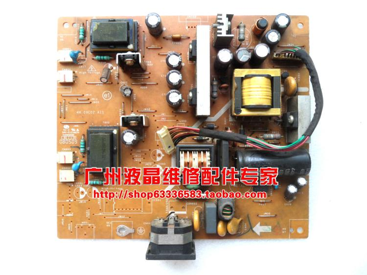 Free Shipping>Original 100% Tested Work  VW225N power board VW225D high-pressure plate 4H.09C02.A11  220SW8 power board free shipping original c lwm930 la760 power board pu lwm930 pressure plate jsi 190401b original 100% tested working