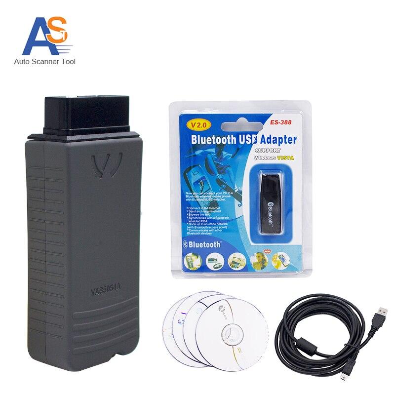 imágenes para Nueva Llegada Bluetooth VAS 5054a Con OKI Chip Herramienta de Escáner de Diagnóstico Autoscanner Profesional Con Multi-idioma