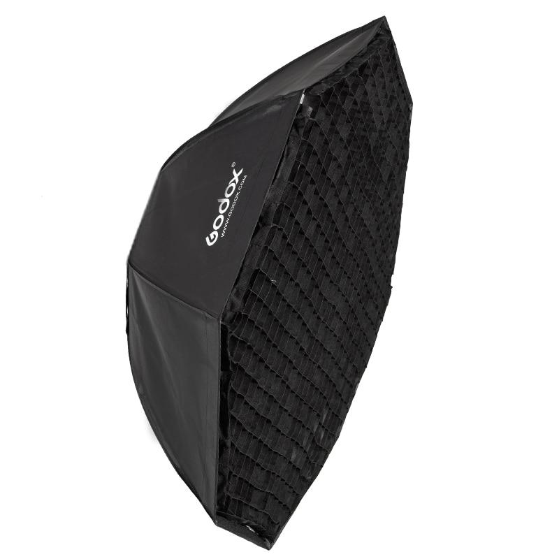 Godox 120cm Octagon Flash Speedlite Studio Photo Light Soft Box w/ Grid Honeycomb Umbrella Softbox Bowens mount 50x130cm softbox reflector with bowens mount for studio flash photo studio soft box photography accesorios fotografia light box