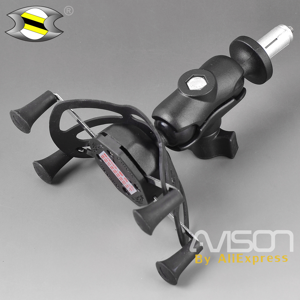 Phone Holder In Fork Stem Mount Bracket Motorcycle GPS Navigation Bracket for Yamaha YZFR1 YZF-R1 2002-2003 Easy Install картридж hp inkjet cartridge 90 black c5058a
