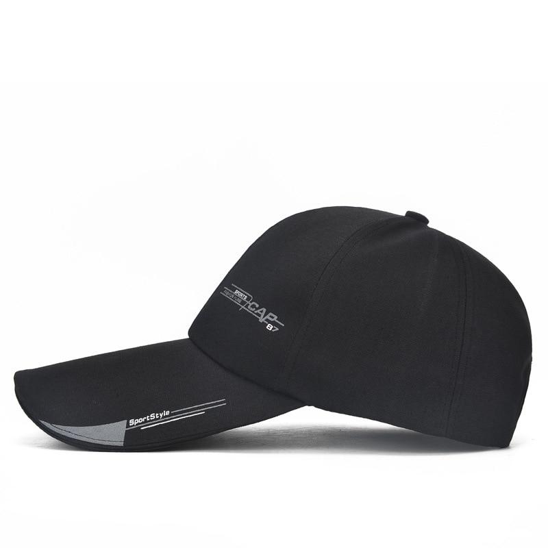 Mens Sports Cap For Fish Outdoor Baseball Cap Long Visor Brim Shade Sun Hat LOT