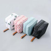 2019 New Premium Travel Mini Cosmetic Makeup Bag Toiletry Case Nylon Pouch Wash Organizer Storage