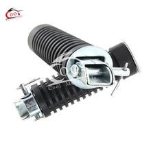 Universal Motorcycle Rubber Rear Pillion Footrest Foot Peg 1 pair