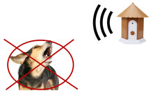 Humanely No Bark Dog Control Pet Ultrasonic Collar Anti Barking Repeller Silencer Outdoor Training Trainer Device
