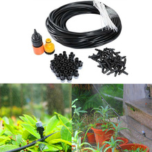 Fog Nozzles Irrigation System Garden Irrigation Set Cooling Moisturizer Water Irrigation Automatic Watering Kit Set origins hit refresh cooling moisturizer with hawaiian mineral water