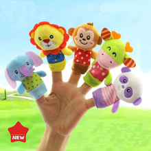 Family Set Mini Baby Plush Toy Boys Girls For Educational Rattle Toys 5pcs Gift Kid