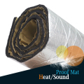 120 x 100CM Car Truck Boat Audio Stereo Aluminum Foil Heat Proof Sound Deadener Muffler Mat Sticker Noise Control