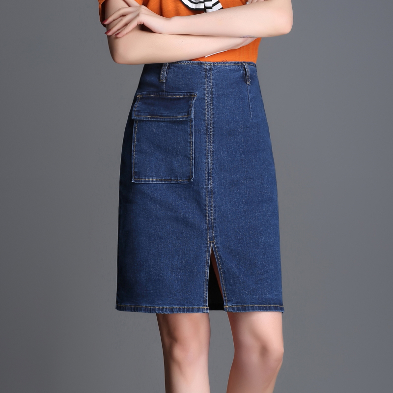 Compare Prices on Straight Denim Skirts- Online Shopping/Buy Low ...
