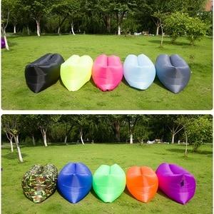 Image 2 - Light Sleeping Bag Waterproof Inflatable Bag Lazy Sofa Camping Sleeping Bags Air Bed Adult Beach Lounge Chair Folding CE2075/10