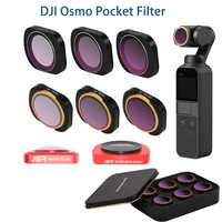 Per DJI osmo tasca filtro ND CPL filtri kit osmo tasca accessori polar ND4 8 16 32 UV osmo tasca filtri