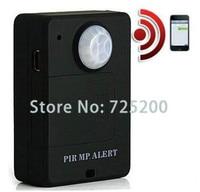 Portable Mini GSM PIR Alarm Motion Dection Wireless PIR Alert Infrared GSM Alarm A9 Security Monitor